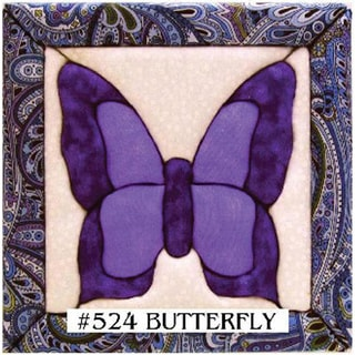 Quilt Magic No Sew Butterfly Wall Hanging Kit