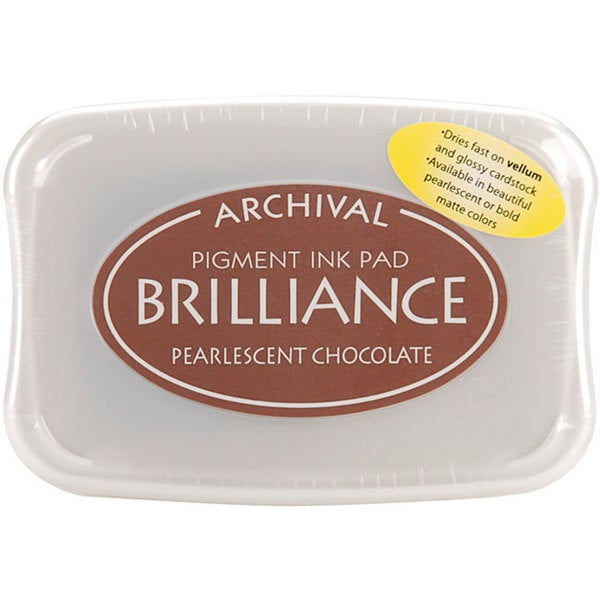 Brilliance Pigment Pearlescent Chocolate Inkpad