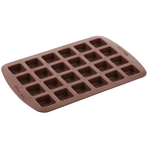 Wilton Brownie Pops 24-cavity Oven-safe Odor-resistant Silicone Mold
