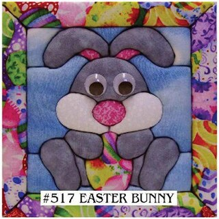 Quilt Magic No Sew Easter Bunny Wall Hanging Kit