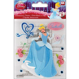 Disney Dimensional Cinderella Sticker Sheet