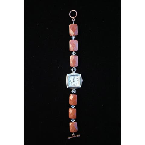 Beadwork by Julie Goldstone and Crystal Watch