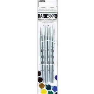 Liquitex Basics Short Handle 6-piece White Nylon Acrylic Brushes