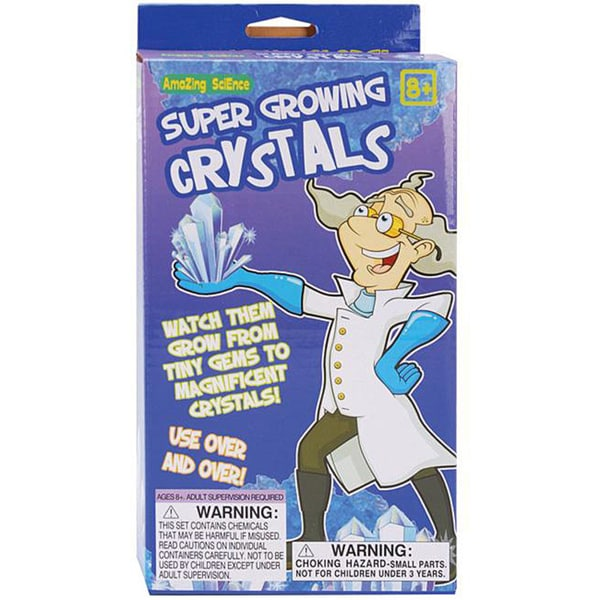 Mad Science Super Growing Crystals Kit -