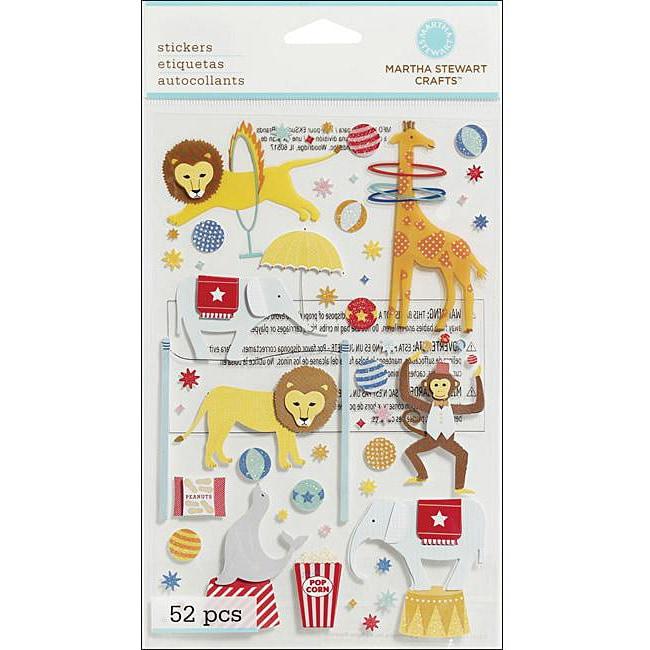 Martha Stewart 'Circus Animals' Dimensional Stickers