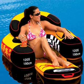 Swim Time Siesta Folding Lounge Pool Float
