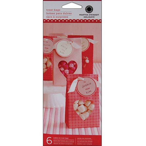 Mini Treat Valentine Bags (Pack of 6)