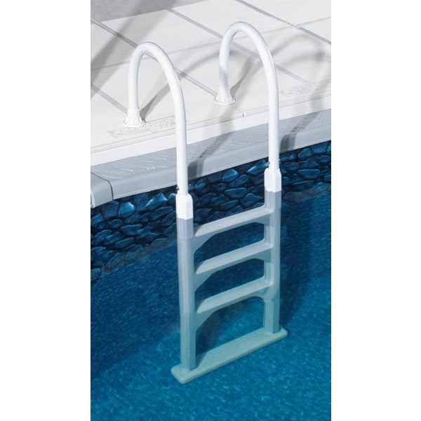 Shop Blue Wave Aluminum Resin In Pool Ladder For Above