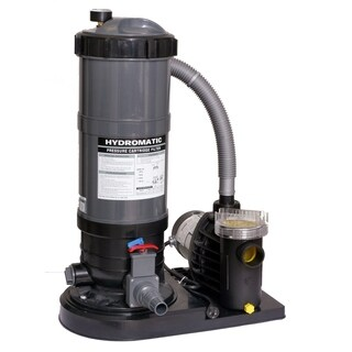 Blue Wave 1-horsepower Cartridge Pool Filter System
