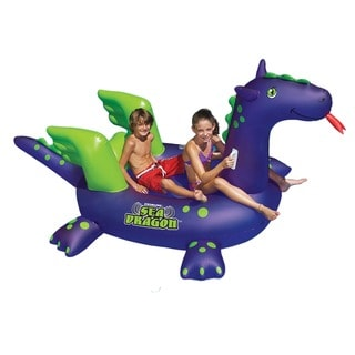 Swimline Giant Sea Dragon 9-ft Inflatable Ride-On Pool Toy