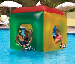 Swimline The Cube Inflatable Pool Toy - Thumbnail 2