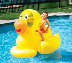 Swim Time Giant Ducky Water Toy - Thumbnail 1