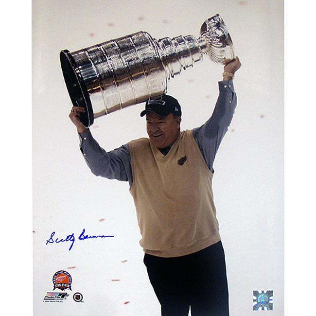 Steiner Sports Scotty Bowman Cup Overhead Signed Photo
