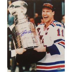 Steiner Sports Mark Messier Cup on Side Autograph Photo