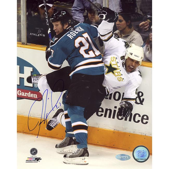 Steiner Sports Jeremy Roenick San Jose Sharks Checking Vertical Signed Photo
