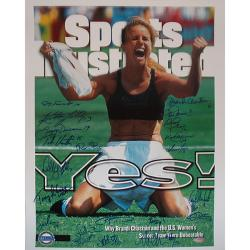 Thumbnail 3, Steiner Sports 1999 USA Women's Soccer Team Autographed Sports Illustrated Cover. Changes active main hero.