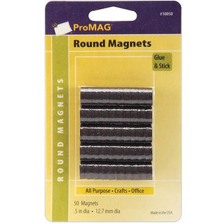 Pro Mag Round Magnets (Set of 50)