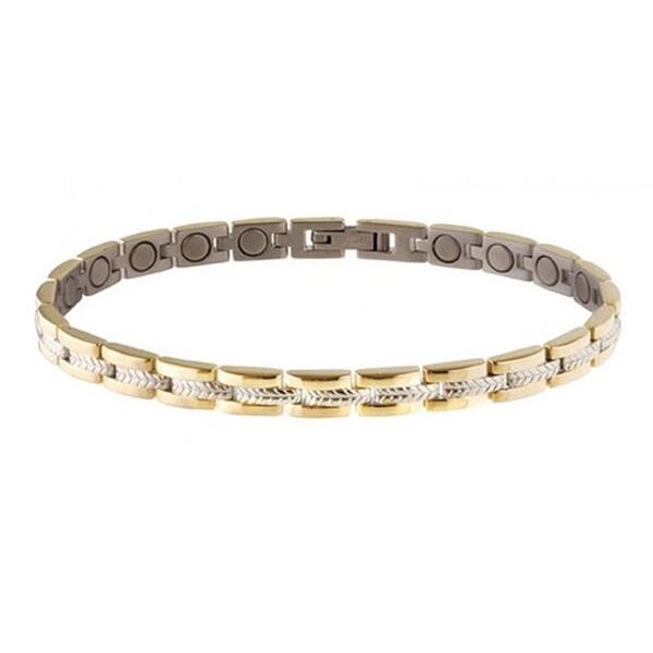 Sabona Lady Executive Regal Duet Large Magnetic Bracelet