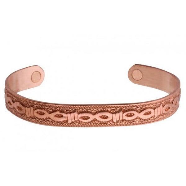 Shop Sabona Copper Barb Magnetic Bracelet - Free Shipping ...