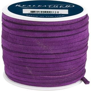 Silver Creek Royal Purple Suede Lace