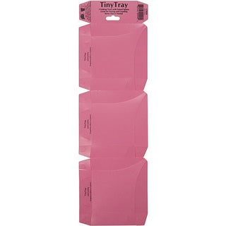 Pink Tiny Trays (Pack of 3)