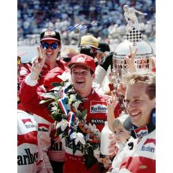 Steiner Sports Al Unser Jr Celebration at Indy Signed Photo