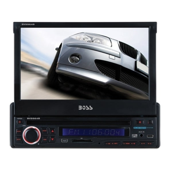 "Boss Audio BV9964B Car DVD Player - 7"" Touchscreen LCD - Single DIN"