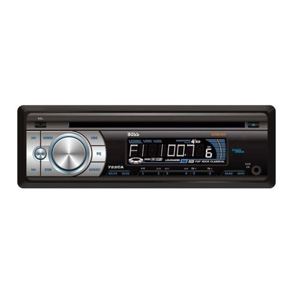 Boss Audio 722CA Car CD/MP3 Player - Single DIN
