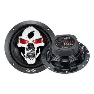 "BOSS AUDIO SK653 Phantom Skull 6.5"" 3-way 350-watt Full Range Speaker"