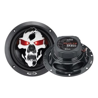 "BOSS AUDIO SK652 Phantom Skull 6.5"" 2-way 300-watt Full Range Speaker"