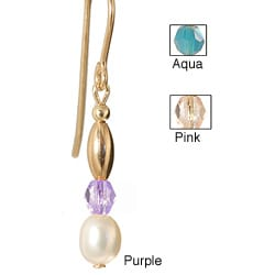 Pearl 'Sweet Mya Valentine' 14k Gold Fill Earrings