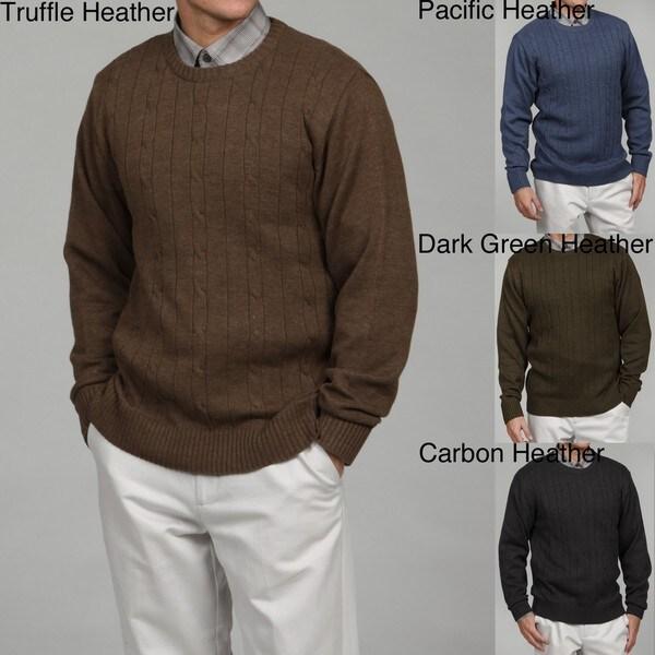Shop Oscar De La Renta Mens Cable Knit Sweater Final Sale Free