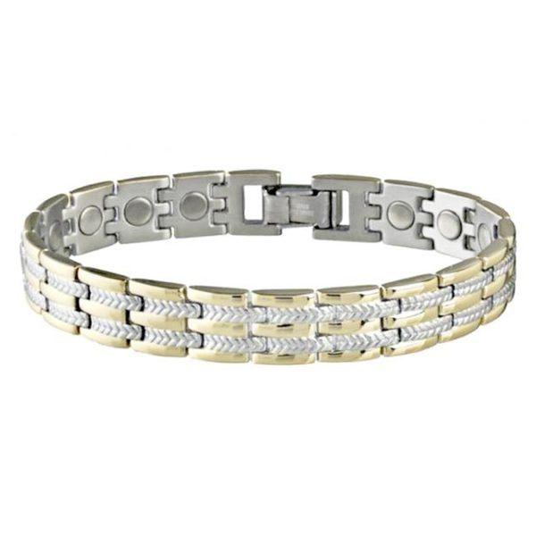 Sabona Executive Regal Duet Magnetic Bracelet