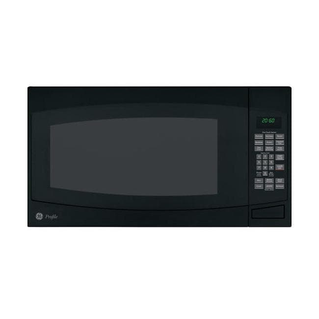 GE Profile PEB2060DMBB Black 2-cu-ft Countertop Microwave Oven