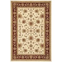 Safavieh Majesty Extra Fine Cream/ Red Rug - 5'3' x 7'6'