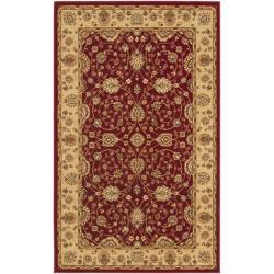 Safavieh Majesty Extra Fine Red/ Beige Rug (3'3 x 5'3)