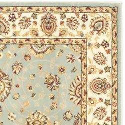 Safavieh Majesty Extra Fine Light Blue/ Cream Rug (3'3 x 5'3) - Thumbnail 1