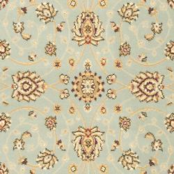 Safavieh Majesty Extra Fine Light Blue/ Cream Rug (3'3 x 5'3) - Thumbnail 2