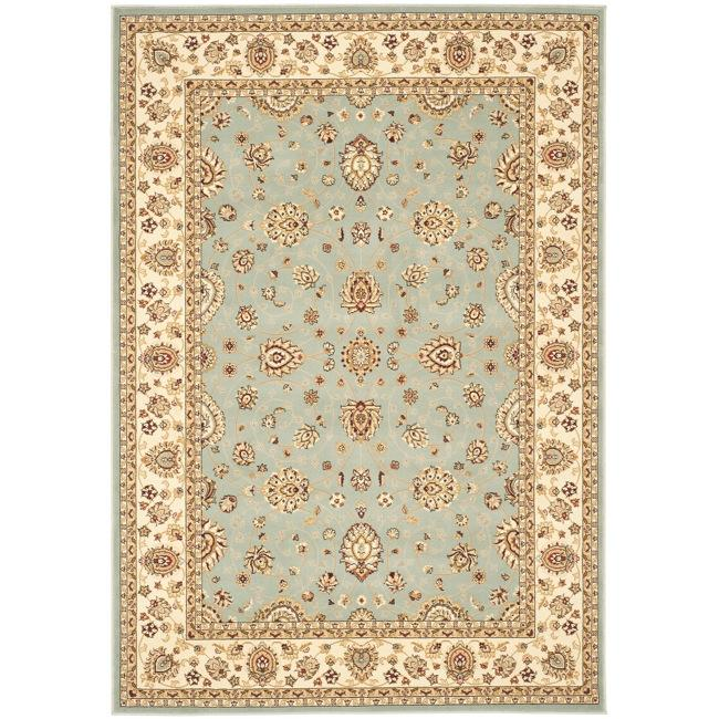 Safavieh Majesty Extra Fine Light Blue/ Cream Rug - 5'3' x 7'6'