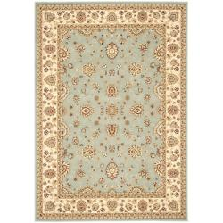 Safavieh Majesty Extra Fine Light Blue/ Cream Rug - 5'3' x 7'6' - Thumbnail 0
