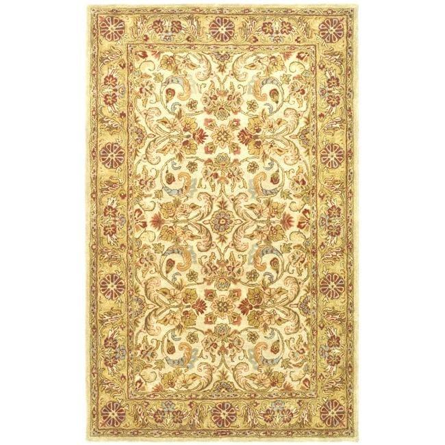 Shop Safavieh Handmade Classic Grey Light Gold Wool Rug
