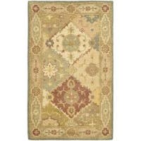 Safavieh Handmade Antiquities Bakhtieri Multi/ Beige Wool Rug - 3' x 5'