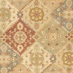 Safavieh Handmade Antiquities Bakhtieri Multi/ Beige Wool Rug (5' x 8')