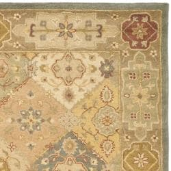 Safavieh Handmade Antiquities Bakhtieri Multi/ Beige Wool Rug (6' x 9')