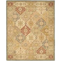 Safavieh Handmade Antiquities Bakhtieri Multi/ Beige Wool Rug - 6' x 9'