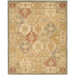 Safavieh Handmade Antiquities Bakhtieri Multi/ Beige Wool Rug - 8'3 x 11' - Thumbnail 0