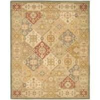 Safavieh Handmade Antiquities Bakhtieri Multi/ Beige Wool Rug - 8'3 x 11'