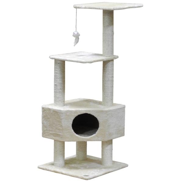 Go Pet Club 51-inch Cat Tree Condo