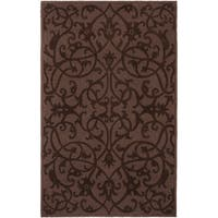 Safavieh Handmade Irongate Brown New Zealand Wool Rug - 4' x 6'