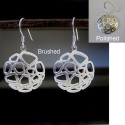 Sterling Silver Fun Circle Earrings (Thailand)